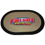 Fuel safe cover with wear guard