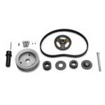 KSE HTD Belt Drive Kit, Single Belt Drive for V-Belt Driven Water Pump