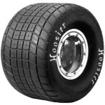 "Hoosier F500 Left Rear Tyre, 65"" x 10"" x 10"", Crossblock"